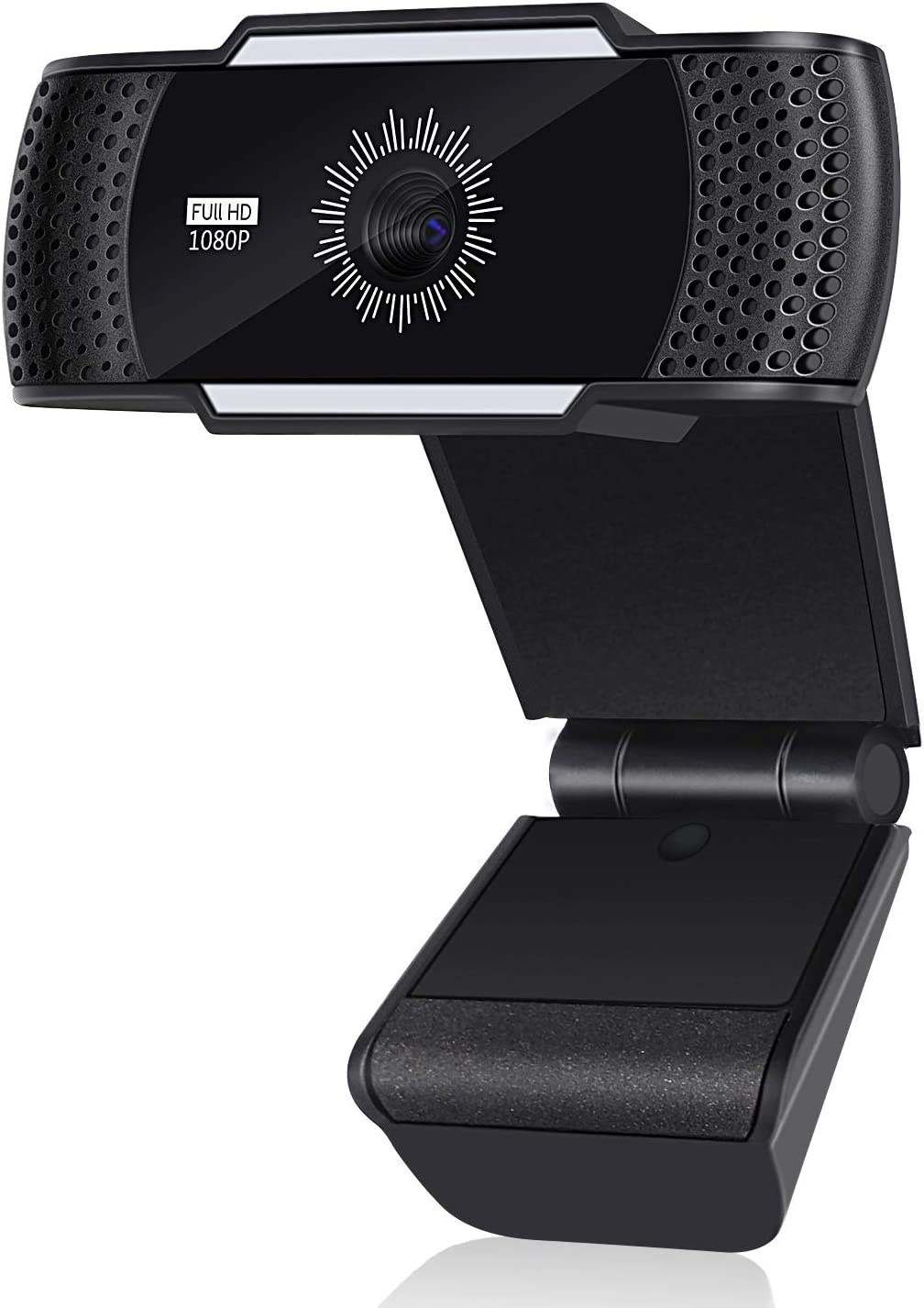 1080P Webcam, Full HD Web Camera with Built-in Dual Microphones, Wide-Screen Camera, and 70-Degree View for PC/Laptop/Desktop Live Streaming, Video Chatting, Recording, Conferencing, Online Teaching