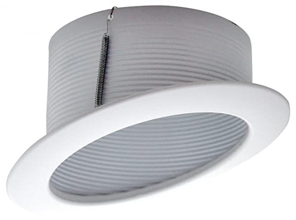 Cost Less Lighting 6u0026quot; Inch Sloped Recessed Trim - White Stepped Baffle  sc 1 st  Amazon.com & Cost Less Lighting 6