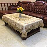 HuaShaoHome Dining Table Cloth Fabrics Cover The Green Cloth Lace Round Rectangular Seat Cushion Upholstery Package, The 230 Round