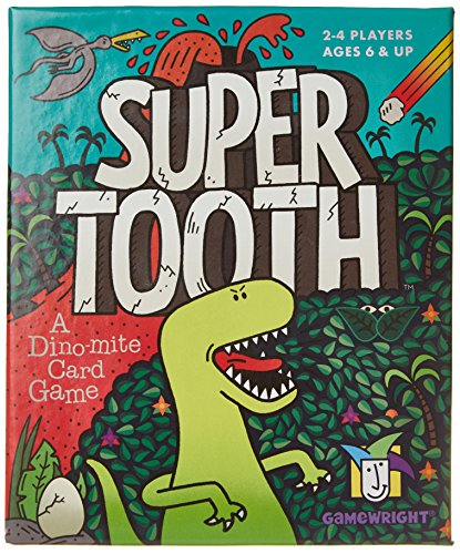 Super Tooth Dino mite Card