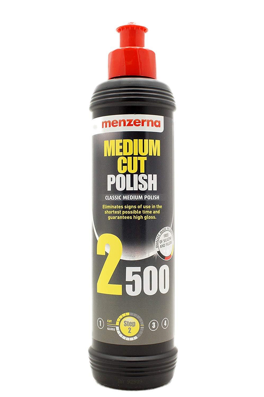 Menzerna MCP2500 Medium Cut Polish 2500, 8 oz.