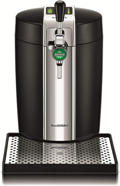 Krups VB700800 BeerTender Dispensador de cerveza termoplástico, color negro