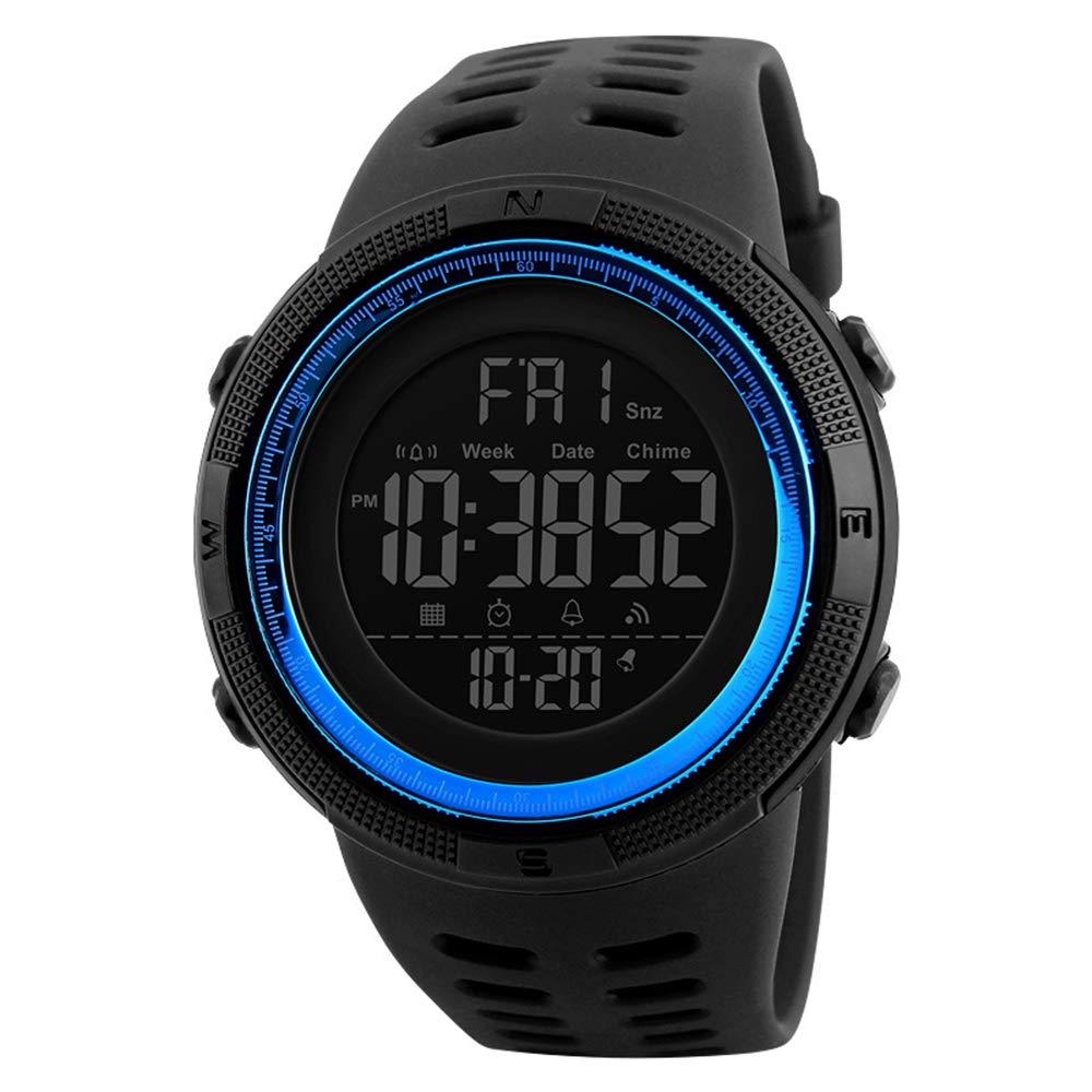RMM Men s Digital Outdoor Sports Watch Waterproof Military Stopwatch Countdown Auto Date Alarm