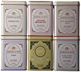Harney & Sons Variety Pack Premium Sachets, 6 Flavors, 20 Tin Sachets Each