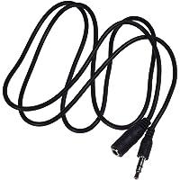 霹雳电PiLiDan 3.5音频延长线 aux线3.5mm音频线连接线公对母电脑音响耳机加长线 (黑色1.5m)