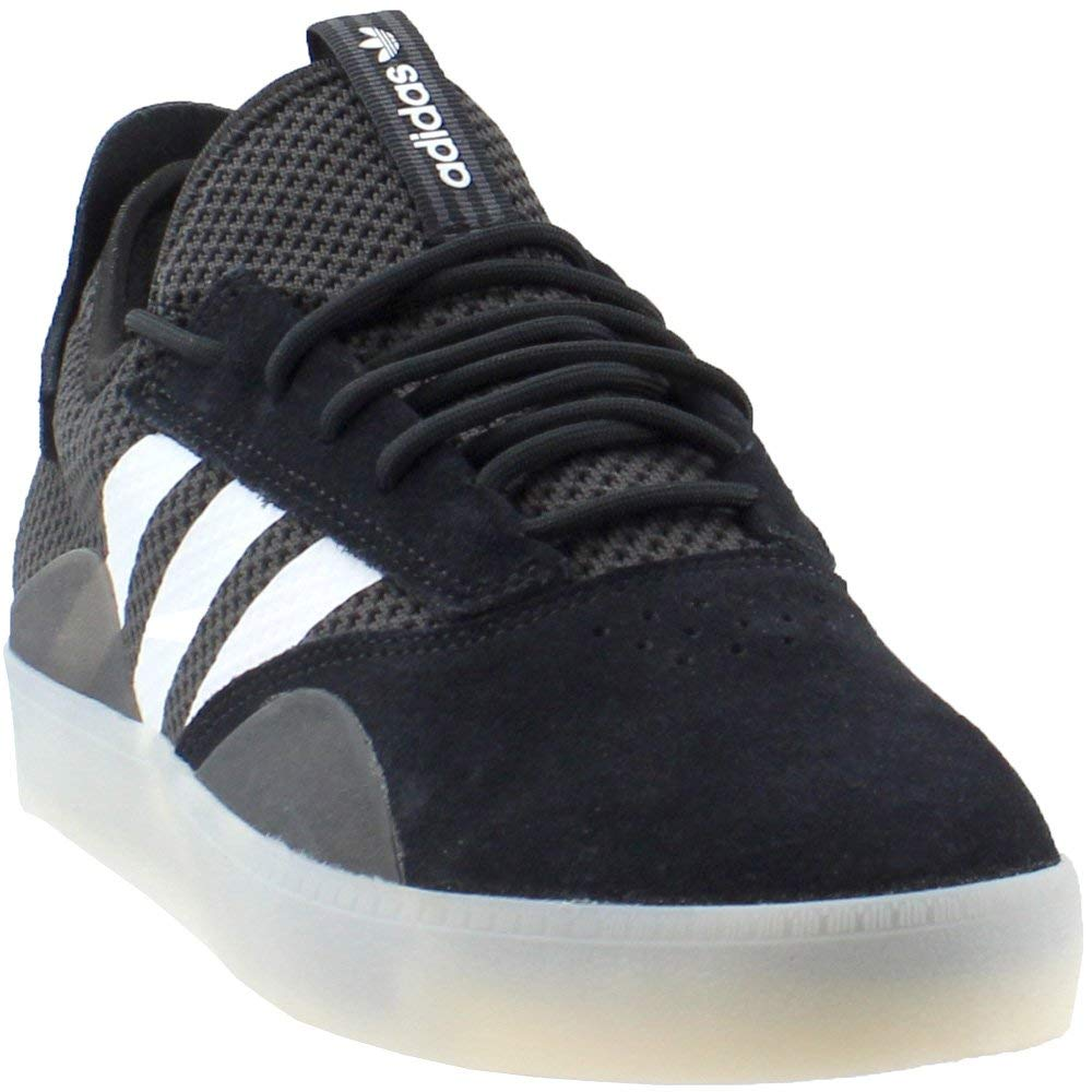8a9d1f0bc5d7 Galleon - Adidas 3ST.001 Shoes Mens Fashion-Sneakers CQ1087 11.5 - CORE  Black Cloud White Silver Metallic