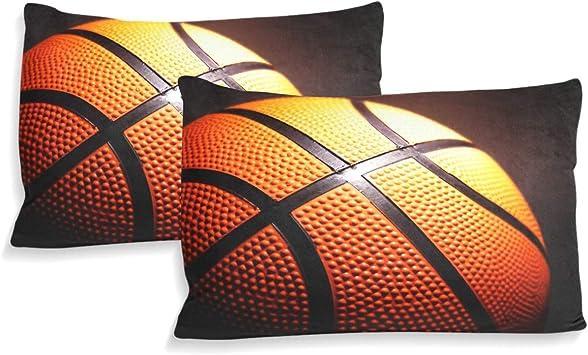 MONTOJ Juego de sábanas de Baloncesto de la NBA Sports Utopia ...