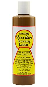 Maui Babe Browning Lotion 8 Ounces
