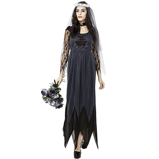 boleyn ghost gothic bride costume sexy prom halloween costumes for women