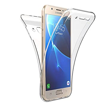 Carcasa Samsung Galaxy J5, Caso Funda Samsung Galaxy J5 2015, JAWSEU Samsung Galaxy J5(2015) J500 J500H J500F Carcasa Caso Cover 360 Grados Protección ...