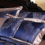 100% silk pillowcase double-sided pillowslips european jacquard pillow sets pillow core sleeve -A 48x74cm(19x29inch)