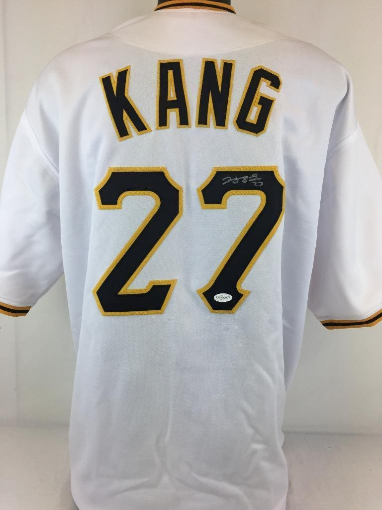 b3c292fbe best price 70off jung ho kang autographed jersey coa pitsburgh jsa  certified 72c9c 68f51