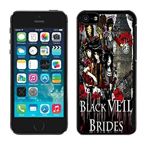 MMZ DIY PHONE CASEblack veil brides Anime 01 Black Hard Plastic iphone 6 4.7 inch Phone Cover Case
