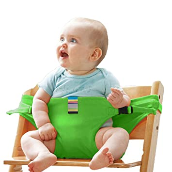 Amazon.com : Portable Baby Feeding Chair Belt - Toddler Safety ...