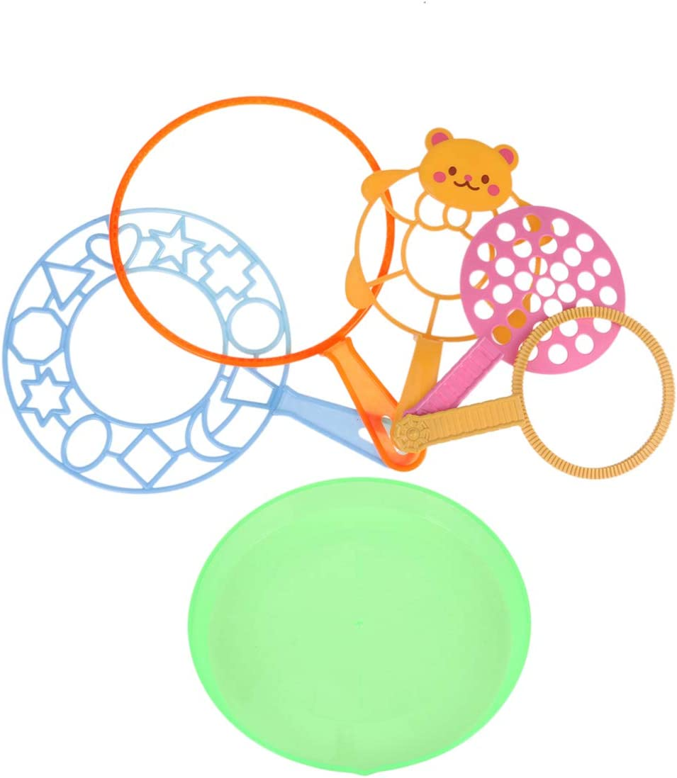 STOBOK Conjunto de Varita de Burbujas Juguetes para Soplar Surtido de Varitas de Burbujas Herramienta de Fabricante de Burbujas Colorido Verano Niños Suministros de Burbujas Favor de Fiesta Plástico
