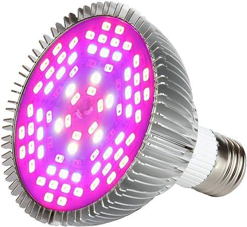 Full Spectrum Plante lampe de lumi/ère pour lint/érieur plantes L/égumes Serre et culture hydroponique 78LED Lampe de culture ampoules
