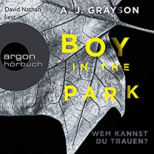 Boy in the Park Hörbuch