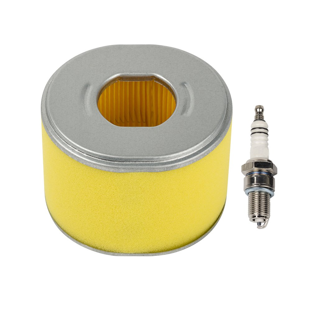 OuyFilters Air Filter with Spark Plug for Honda GX240 GX270 8hp 9hp engine