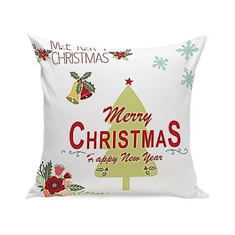 Xinantime Fundas Cojines, Navidad Super Suave Almohada Funda de Cojín (B)