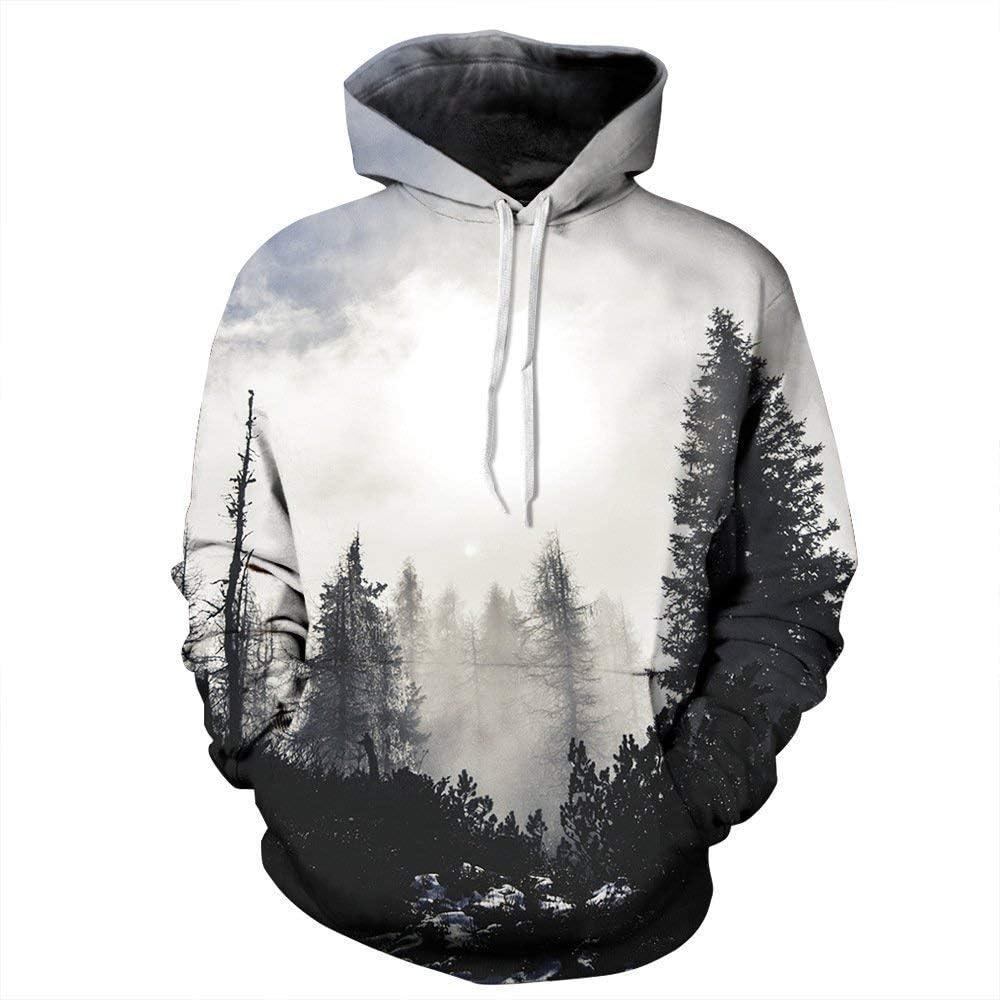 Men//Women Hoodie Sweater Sweatshirt Pullover 3D Graphic Print Jumper Unisex Tops