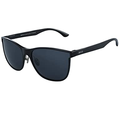 195bea2389 Image Unavailable. Image not available for. Colour  Duco Men s Polarized  Driving sunglasses Style Eyewear Fashion Rimmed Glasses UV400 protection  8205