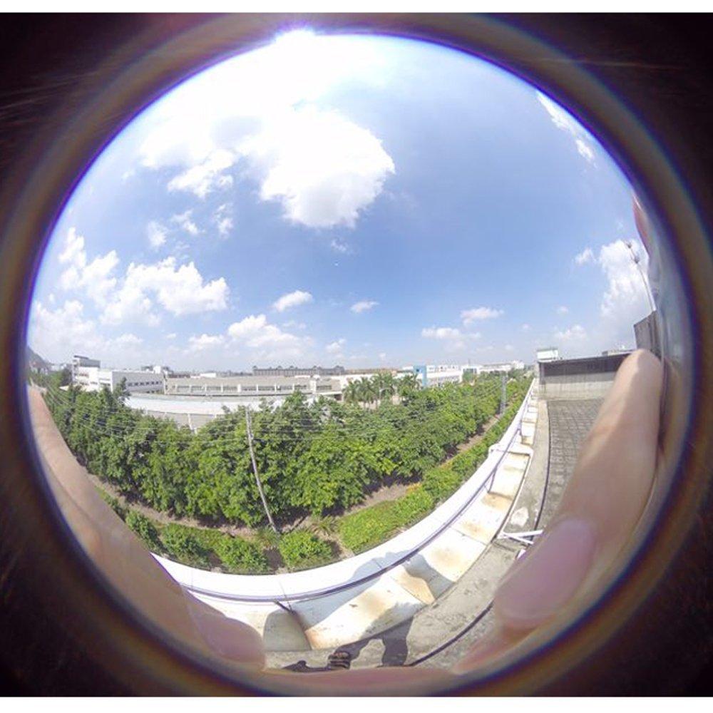 Amazon.com: cvivid lentes 1,21 de ancho ángulo 220 grados de ...