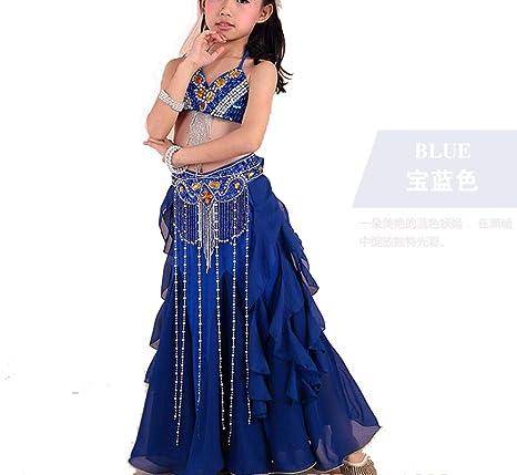 3-Piece Set Top Grado Niños Danza de Vientre Ropa de Danza ...