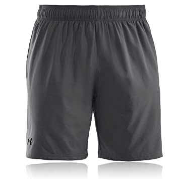 Under Armour UA Mirage Short 8 Pantalón Corto, Hombre, Graphite (040