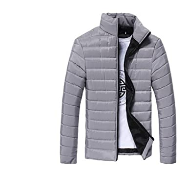 4e634e647c7 Peixiang Men Stand Collar Warm Thick Coats 1206 at Amazon Men s Clothing  store