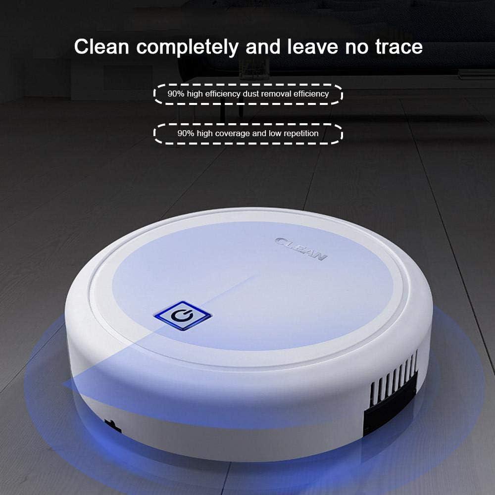 Volwco USB Recargable Robot Aspirador Alto Costo-Efectivo 1400Pa ...
