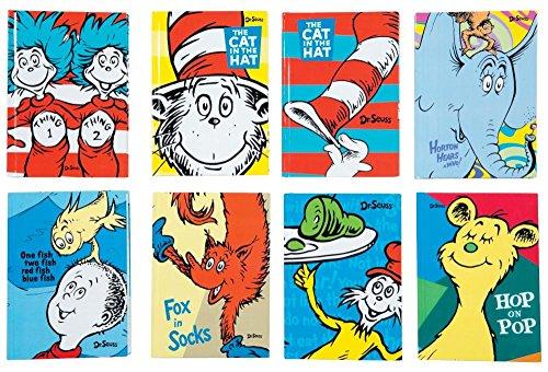 Raymond Geddes Dr. Seuss Journal, 12 Pack (69979)