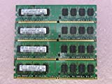 Samsung M378T2953EZ3-CE6 4GB 4 x 1GB PC2-5300U DDR2 667 NonECC Unbuff Memory