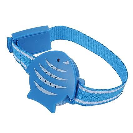 TOOGOO(R) Pulsera de seguridad para ninos Anti-perdida dispositivo de alarma para proteger al nino al aire libre