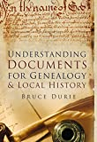 Understanding Documents for Geneaology & Local History