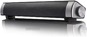 Sound bar black, TV desktop wall-mounted wireless speaker, Subwoofer speaker