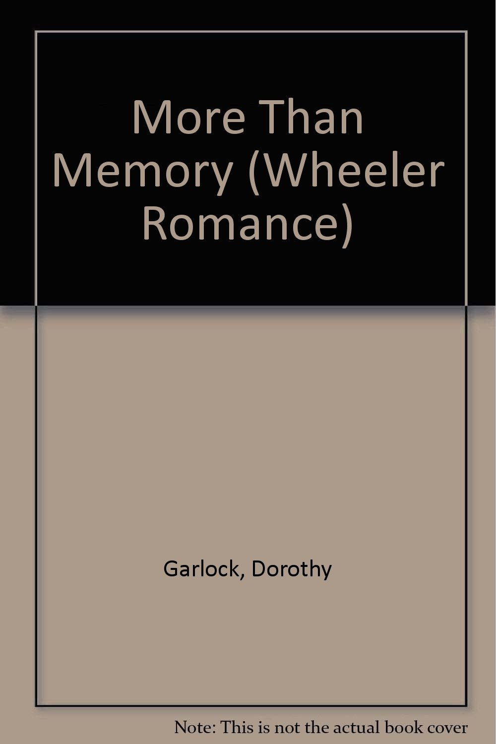 Download More Than a Memory ebook