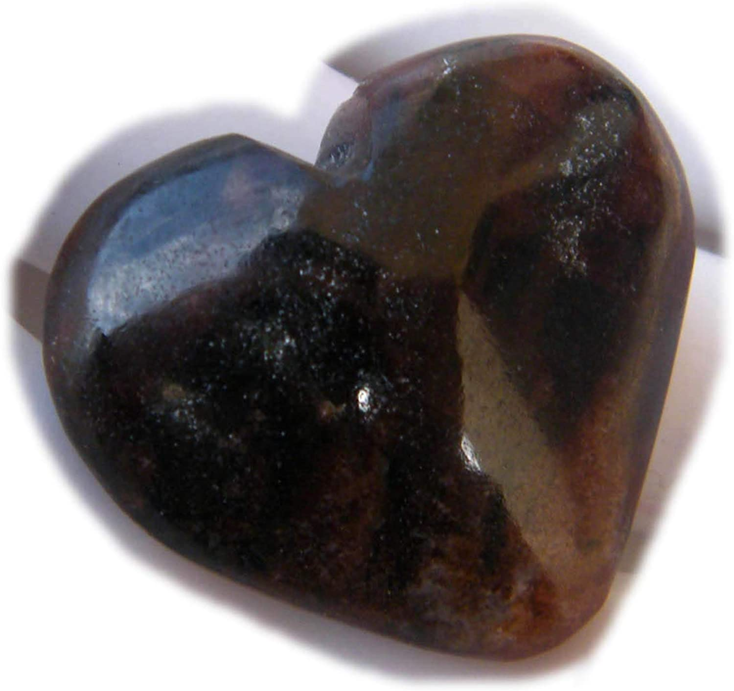70Ct Natural Gemstone The Best Jewellery Chiastolite cabochon Heart Shape Cabochon for Jewelry Making SKU-12073 24x27x12mm