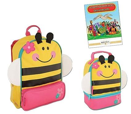 6034c55f817c Stephen Joseph Sidekicks Backpack and Lunch Pals School Bag Set