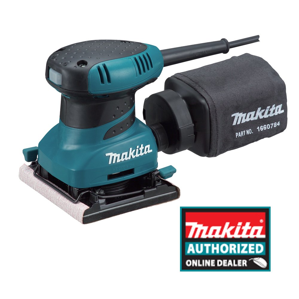 Makita BO4556K 2.0 Amp 4-1/2-Inch Finishing Sander with Case - Best Palm Sander Review