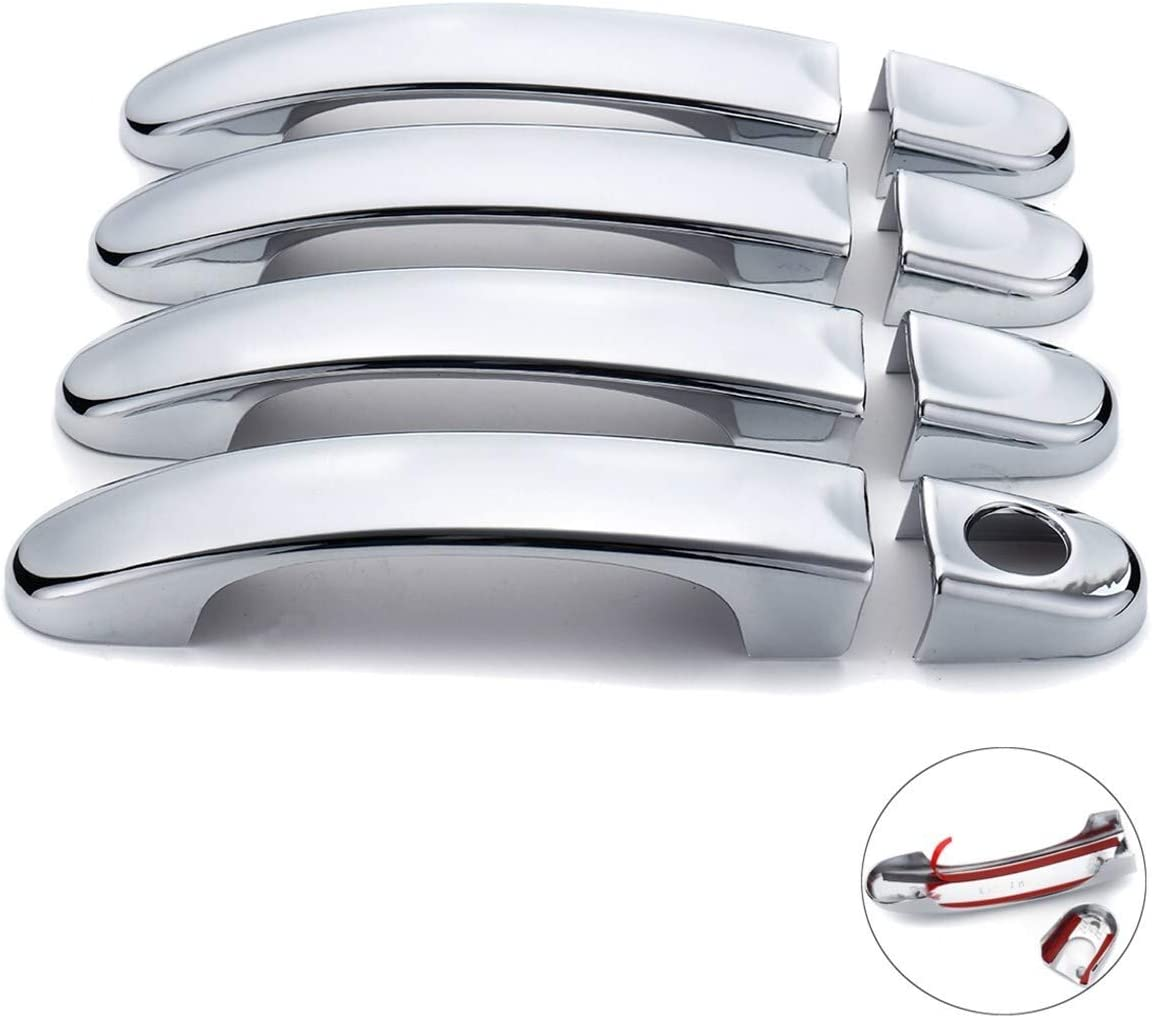 NO LOGO KF-Griff 8pcs ABS Chrom-T/ür-Handgriff umfa/ßt Ordnung for VW Touran//Caddy//Mult 2003 2004 2005 2006 2007 2008 2009 2010 2011 2012 2013