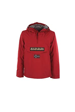 edc9790793e NAPAPIJRI RAINFOREST WINTER N0YFR OLD RED VESTES ET BLOUSONS Homme OLD RED L