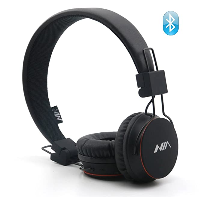 Osla multifuncional inalámbrico auriculares, auriculares con radio FM, plegable Over Ear Auriculares Bluetooth con Micro Lector de tarjetas SD, ...