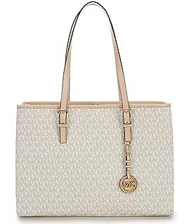 62dae7f1adbd Amazon.com  Michael Kors Sofia Large Signature MK Shoulder Tote Bag ...