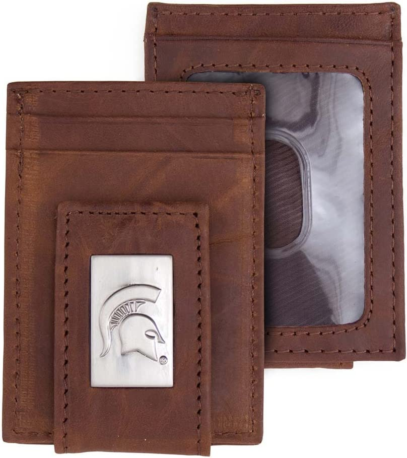 NCAA Rico Industries  Laser Engraved Billfold Wallet Michigan State Spartans