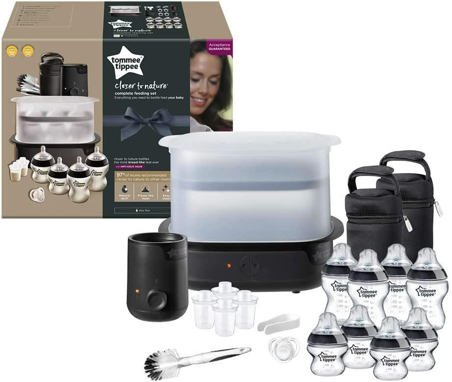 Tommee Tippee Kit completo de alimentaci/ón blanco blanco