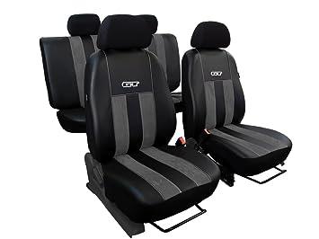 Sitzbezüge dunkel grau vorne KOS VW TIGUAN