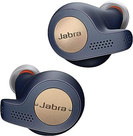 Oferta amazon: Jabra Elite Active 65t – Auriculares Deportivos Bluetooth con Cancelación Pasiva de Ruido y Sensor de Movimiento, Auténticas Llamadas Inalámbricas y Música, Azul Cobre