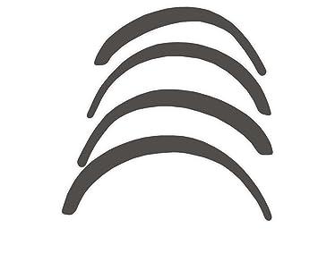 R.S.N. 059 para pintar rueda arcos, Fender tapacubos extensiones, para óxido