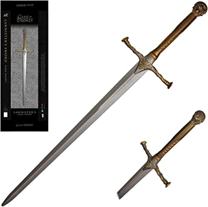 Jaime Lannisters Sword Officially Licensed Replica Foam Weapons from HBO s hit TV Series Game of Thrones