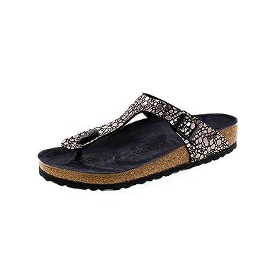 c211bdd32 Birkenstock Shoes - Gizeh BS 1008865 - Metallic Stones Black: Amazon.co.uk:  Shoes & Bags